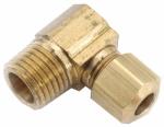 Anderson Metals 710069-0404 1/4CMPx1/4MPT Elbow
