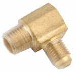 Anderson Metals 714049-0604 3/8FLx1/4MPT Elbow