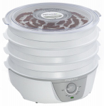 National Presto Ind 06302 Food Dehydrator, Electric, 750-Watt, 120-Volt