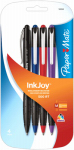 Sanford 1951274 Ink Joy 500 RT Pen, Retractable, Assorted Inks, 4-Pk.