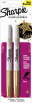 Sanford 1823813 Permanent Marker, Gold Metallic, 2-Pk.