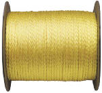 Wellington Cordage 10810 Monofilament Polypropylene Rope, Yellow, 0.25-In. x 1000-Ft.