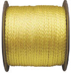 Wellington Cordage 10819 Monofilament Poly Rope, Yellow, 5/16-In. x 500-Ft.