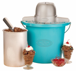 Englewood Marketing Group ICMP400BLUE 4-Qt. Ice Cream Maker