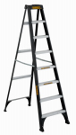 Louisville Ladder DXL3110-08 Fiberglass Step Ladder, 250-Lbs., Type I, 8-Ft.