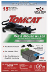 Motomco 22154 Tomcat Rat Killer Bait Station, Refillable