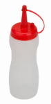 Bradshaw International 12575 Squeeze Dispenser Bottle, Clear, 8-oz.