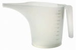 Norpro 3040 Funnel Measuring Pitcher, Plastic, 3.5-Cups