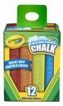 Crayola 51-2012 Cray12CT Sidewalk Chalk