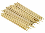 Bradshaw International 72013 Apple Stick Skewers, Bamboo, 30-Ct.