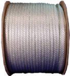 Wellington Cordage 10172 3/8-Inch x 500-Ft. White Solid Braided Nylon Cord