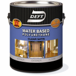 Deft 25901 Gal Water Based Int/Ext Satin Poly
