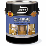 Deft/Ppg Architectural Fin DFT258/01 Gal Water Based Int/Ext Semi Gloss Poly