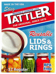 Tattler Home Products 1010-1 Reusable Canning Lids, Regular, 24-Pc.