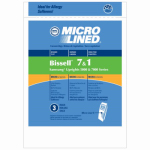 Elco Laboratories 70312 Vacuum Bags, Upright 1-7, 3-Pk.