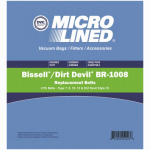 Elco Laboratories 70528 Bagless Vacuum Cleaner Belt