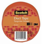 3M 920-ORG-C Duct Tape, Orange, 1.88-In. x 20-Yds.