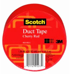 3M 920-RED-C Duct Tape, Red, 1.88-In. x 20-Yds.