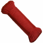 Wellington Cordage NPC5503210R 5/32x100 RED Paracord
