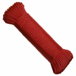 Wellington Cordage NPC5503250R 5/32x50 RED Paracord