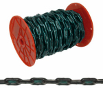 Apex Tools Group PS0332027 Straight Link Chain, Green Vinyl Sleeve, 2/0,  Sold In Store by the Foot