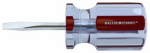 Pratt-Read 167485 Screwdriver, Stubby Slotted, 3/16 x 1.5-In.