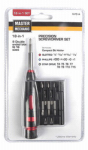 Hangzhou Great Star Indust 167514 Precision Screwdriver Set, 18-Pc.