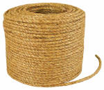 Wellington Cordage 28773 1/2-Inch x 600-Ft. Natural Fiber Manila Twisted Rope