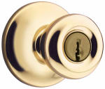 Kwikset 400T 3 6AL RCS Security Tylo Entry Lockset, Brass