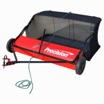 Precision Products LSP48 Tow-Behind Lawn Sweeper, 15-Cu. Ft. Capacity, 48-In.