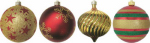 "Christmas By Krebs TV620024A 5.9"" Decorator or Decoration Ornament"