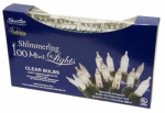 Sienna V825B111 Add-A-Set Christmas Lights, Clear Shimmer, Indoor & Outdoor, 100-Ct.