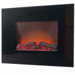Allen Group Intl EA1119R Electric Fireplace, Wall-Mount, 26-In. Firebox