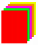 Royal Consumer Products 27043 40 Count Fluorescent Poster Board