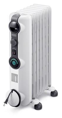 DeLonghi KH390715CM Oil-Filled Radiator Heater, ComfortTemp