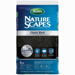 Scotts Growing Media 88502440 Nature Scapes Color-Enhanced Mulch, Black, 2-Cu. Ft.