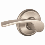 Schlage Lock F10VMER619 Merano Passage Lockset, Satin Nickel