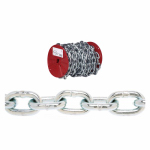 Apex Tools Group 0722127 55-Foot Reel 1/4-Inch Zinc Proof Coil Chain