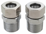 Brass Craft Service Parts 169038 2-Pack Compliant 1/2-Inch Male Pipe Thread x 1/2-Inch Faucet Inlet Adapter