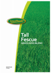 Barenbrug Usa 14059 Tall Fescue Grass Seed Blend, 25-Lbs.