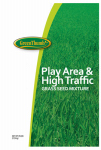 Barenbrug Usa 66666 Grass Seed, Play Area & High Traffic, 25-Lbs.