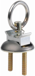 Hampton Products-Keeper 89302 Single Stud Fitting Aluminum Base