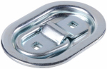 "Hampton Products-Keeper 89312 Light Duty 2 3/4"" Oval Plate Recessed Anchor Ring"