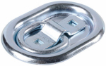 "Hampton Products-Keeper 89316 Heavy Duty 4"" Oval Plate Anchor, Recessed"