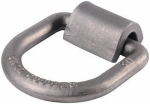 "Hampton Products-Keeper 89317 1/2"" Surface Mount D-Ring Anchor, Weld On"