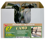 Hampton Products-Keeper 03622 Ratchet Tie Down, Camo, 2-In. x 27-Ft.