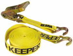 "Hampton Products-Keeper 04624 40'x2"" Ratchet Tie-Down Hay Bale with J-Hooks"