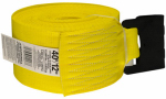 "Hampton Products-Keeper 04927 40'x4"" Winch Strap with Flat Hooks"