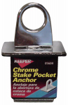 Hampton Products-Keeper 05604 Anchor Point, Chrome Eye with expandable Rubber Block