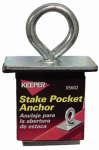 Hampton Products-Keeper 05602 Anchor Point, Steel Ring with expandable Rubber Block